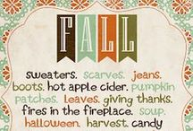 Fall Printables / by Michele Yates {The Homesteading Cottage}