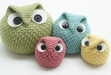 owls -  knit, crochet, & everthing owls / by Beverley Gillanders