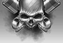 Skulls / by Mikk Phillips