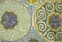 Suzani embroidery and fabrics / uzbekistan / by Dominica Dogge