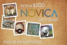 My Favorite NOVICA Jewelry / by Patti Williams