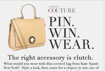 Zappos Couture Pin Win Wear  / by Patti Williams