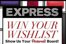 My Express Holiday Wish List / #expressholiday / by Patti Williams