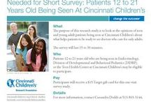 Adolescent Medicine and Behavior News and Research Studies / Find information, news and clinical trials (or research studies) about adolescent medicine and behavior from Cincinnati Children's. / by Cincinnati Children's Clinical Research Studies
