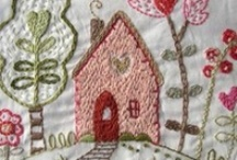 crewel work and embroidery / by Lori Siebert