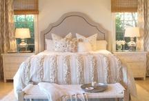 Bedrooms / by Bridget Scoggins