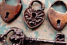 Keys. Locks and Doorknobs / by Bridget Scoggins