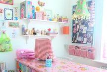 Studios and Workspaces / Inspiring spaces to work and create. / by Melanie Augustin (Kimono Reincarnate)