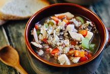 soups, stews and chilis / slow cooker and crock pot friendly meals for a cold day / by Madeline Jacks