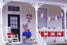 Red White and Blue / by Town and Country Living