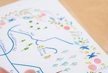 Illustrated Maps / Maps  / by Judy Kaufmann