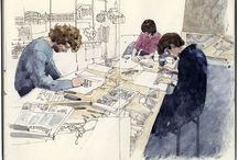 sketching book / sketching book / by Cecy Cuellar