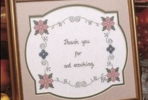 Cross Stitch / To be kept, a project has to have a clear to read pattern and, with a few excptions, a color key. Edited 6/25/2014 / by Connie Barnes