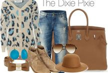 Styled By Moi / The pins in this board are my personal designs. Created through Polyvore.  Do you Polyvore? If not, and you love fashion, you should! (polyvore.com) / by Robin Fretwell - The Dixie Pixie