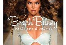 Beach Bunny Swim 2015 / Tresemmé Stylist, Tyler Laswell, created big, bombshell hair to complement Beach Bunny Swiwear's interpretation of a futuristic, sexy woman.  / by TRESemmé