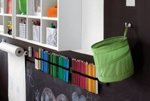 kid rooms & spaces / by Shelley Kish