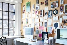 Home Office Love <3 / {Ideas & inspiration for home offices.}  / by Snowdrop Studios/ Ioana Wilkinson