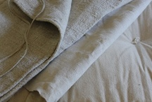 textiles / knit, linen, cotton, thread, twine,  / by Lee Foyle