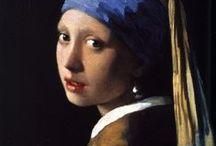 ~Johannes Vermeer~ / by Sharon Phillips