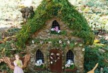 Fairies, Fae, Fairy Garden(s), Fairy Pots & House(s) & Homes, tiny & miniature & container garden(s) / Fairies and their homes.  For those mere mortals like myself, do not be discouraged by some of the very elaborate fairy homes I pin.  I think that some my be photo-shopped a wee bit, and I pin them just for ideas and the fun of fantasy.  / by Melody Christensen