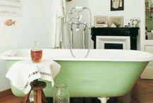 Interiors | Bath / by Amy Sauceda | Amoeba Landing
