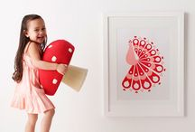 Art for Kids' Walls / Art for kids' walls. Art to display in kids' rooms. Beautiful art for kids' rooms. Beautiful art for kids' spaces.  / by {Áine Teahan} And Baby Makes Three