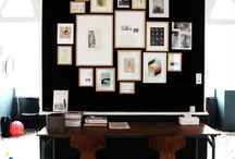 Displaying your Art / Inspiration on displaying art & photography in your home / by {Áine Teahan} And Baby Makes Three