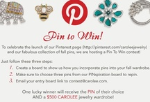 PIN TO WIN! / by CAROLEE