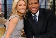 Michael Strahan and Kelly Ripa / The many faces and laughs / by Teresa Powell