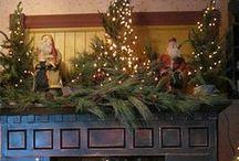 Christmas Mantels / by Teresa Powell