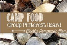 Camping Food / Pin all camping food! IE food that can be made on campsite or ahead of time and wouldn't spoil easily. Yay for summer! Send me an email if you'd like to be added to this board: mrskamiller at gmail dot com / by Kelly Miller {Mostly Homemade Mom}