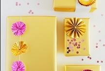 Wrap gifts pretty... / by Nancy Flores