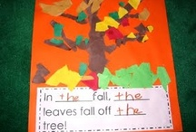 fall and halloween crafts and lesson plan / by Karen Bray