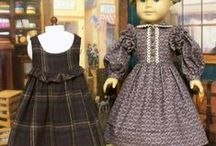 "18"" Doll Clothes Inspiration / Pinning inspiration to use my 18"" doll patterns ""outside the box"" aka pattern envelope! / by Amy Peterson"