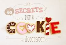 Decorated Cookies Tutorials, and Ideas / by Susan Theriot