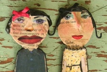 DOLLS & ART DOLLS TO LOVE / by Claudia Jean Nelson