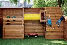 get OUT(side) / outdoor spaces, gardens and play structures / by Elinor Lamb