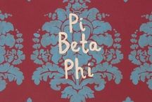Classy, Fabulous, and Pi Phi / by Rachel Martin