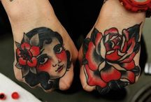 Hand tats / by Alistair Dalrymple Jnr