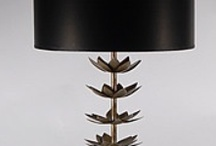 French Modern Table Lamps / Minimal, sophisticated and oh so sensuous, the lamps that epitomize the French Modern style not only provide light, their presence instantly imbues a room with grandeur. / by Lamp Store