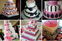 FOOD: Fancy Cakes & Cupcakes / Fancy decorations ~ not that I can do it! / by Kristi Stowell Cole