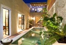 Beautiful Courtyard / by Jennifer MacKinnon