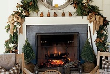Christmas Mantels / by Larissa Hill