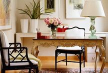 Stylish Home Offices / by Larissa Hill