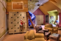 Children's Play Rooms and Bedrooms / Make your child's playroom or bedroom scream fun with these great ideas for children's playrooms and kid's bedrooms. Let their imaginations take them away to a place of fun with these wonderful kid's decorating ideas. / by House Plans and More