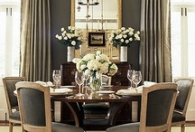 Delicious Dining Rooms / Delicious Dining Rooms offers some of the best dining room decor ideas out there today. From modern and sleek, to elegant and formal, these dining room styles run the gamut and will no doubt inspire you to find the perfect style dining room for your home and lifestyle. / by House Plans and More