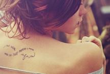 Tattoos / by Broegan Garr
