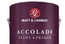 Pratt & Lambert Paint Products / If your walls could talk, they'd ask for Pratt & Lambert paint. We offer a variety of premium interior paints that promise beautiful results for any style, any budget – and every home. / by Pratt & Lambert Paints