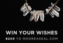 Giveaway: Win Your Wishes! / Happy Holidays friends!  Visit our pin to win info page at http://www.mooreaseal.com/pages/pin-to-win-250-to-mooreaseal-com to learn more! / by Moorea Seal