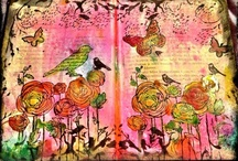 Art Journaling @ it's best / by Sylvia Trevino-Rickman